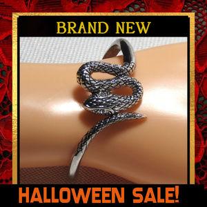 Snake Large Hinged Cuff Bracelet  #426